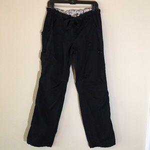Koi Sz M tall black pant